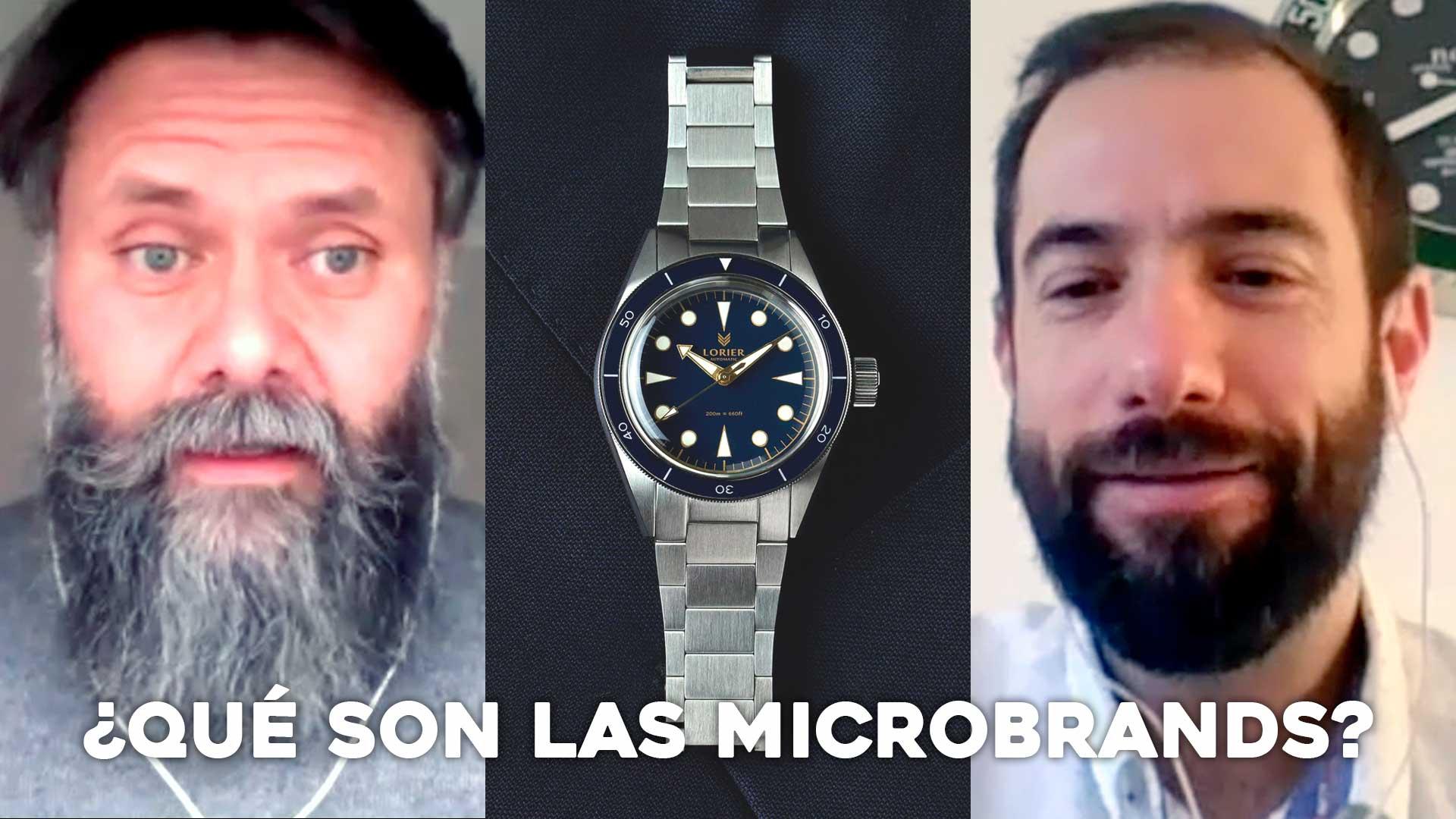 ¿Qué son las microbrands?