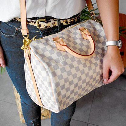 Louis Vuitton Speedy Bandouliere 30 Damier Azur