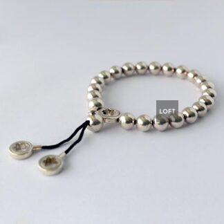 Brazalete de plata Montblanc 102536