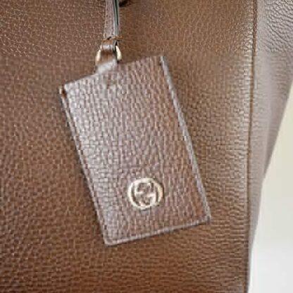 Gucci Swing Tote Leather Medium