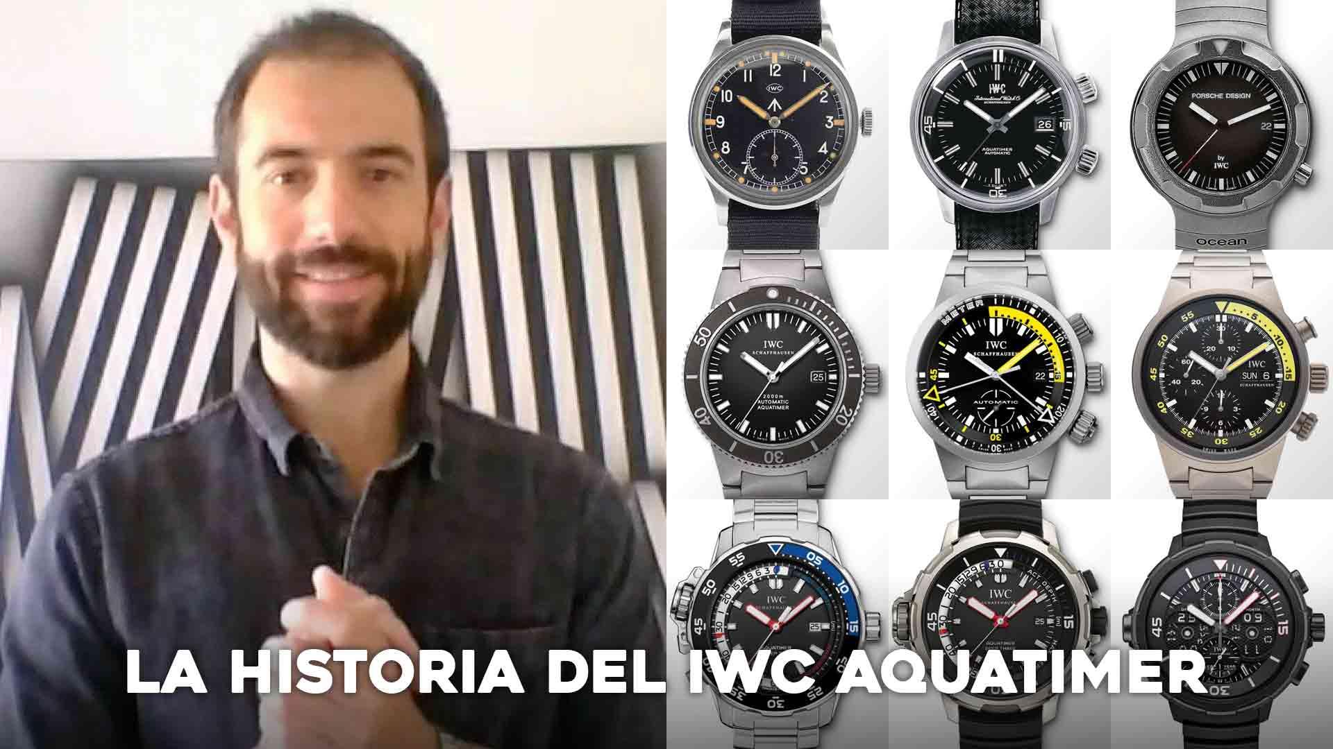 La historia del IWC Aquatimer