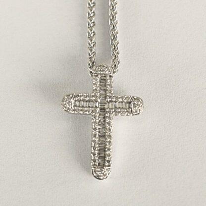 Colgante Cruz Diamantes