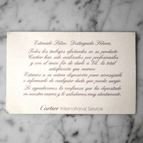 Cartier Santos Galbée Automatique