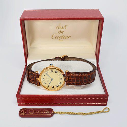 Must de Cartier Vendôme Vermeil