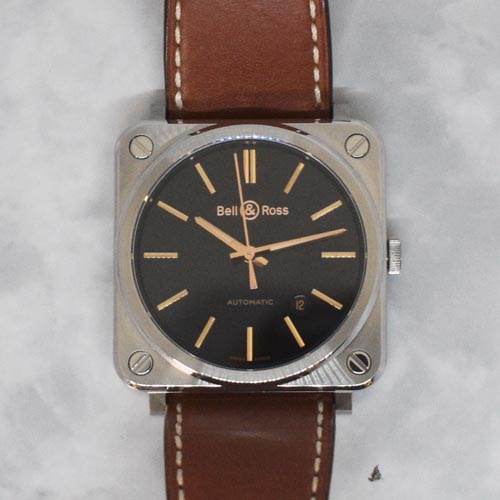 Bell & Ross BR S-92 Golden Heritage BRS92-ST-G-HE/SCA