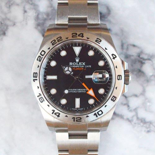 Rolex Explorer II 216570 2019