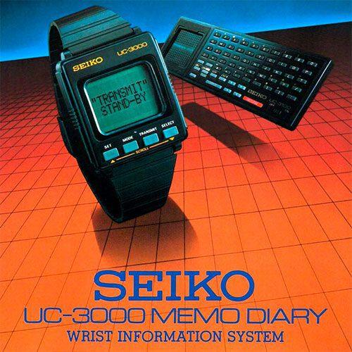 Seiko Memo-Diary UC-3000