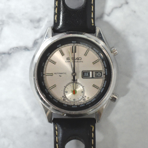 """Seiko 7016-7000 """"5 Hands"""" Flyback"""