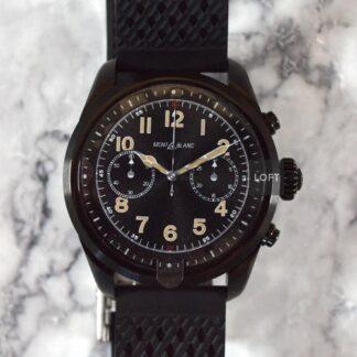 Montblanc Summit 2 Smartwatch acero negro 2021